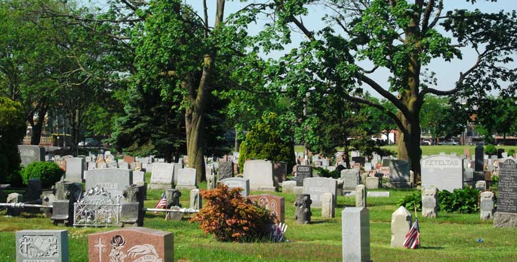 Gravestones-and-Trees-at-Canarsie-Cemeter